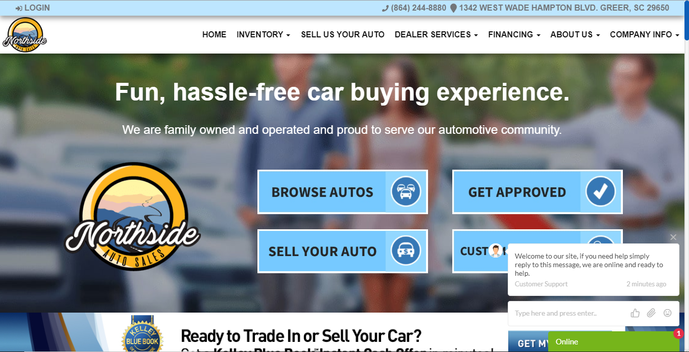 Auto Dealer Website Software Messaging