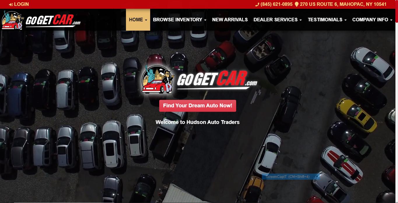 Auto Dealer Website Software Video Header Example