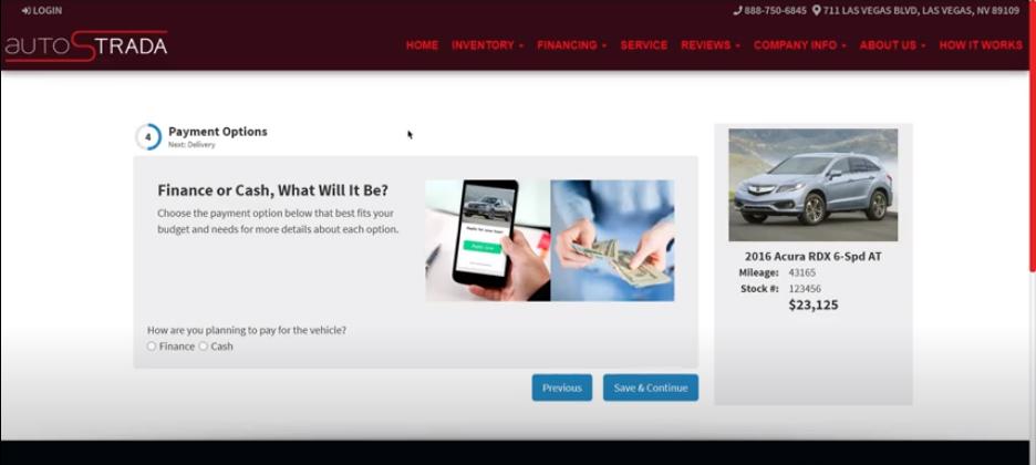 Online Car Sales Payment Options