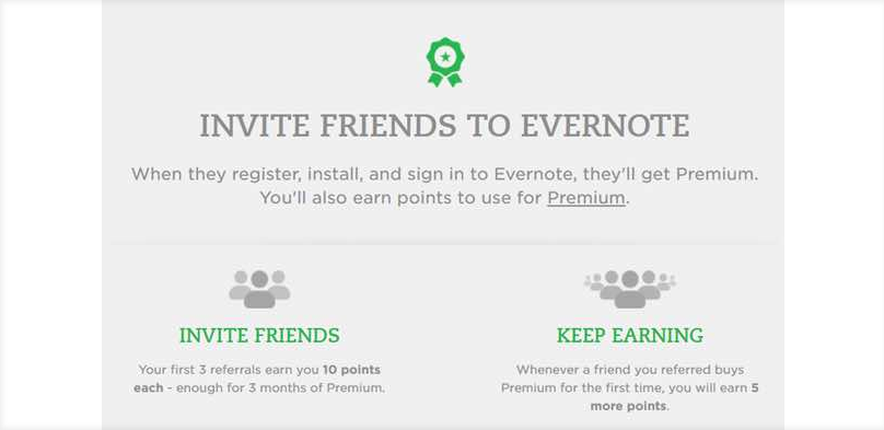 Referral Programs Incentives Example