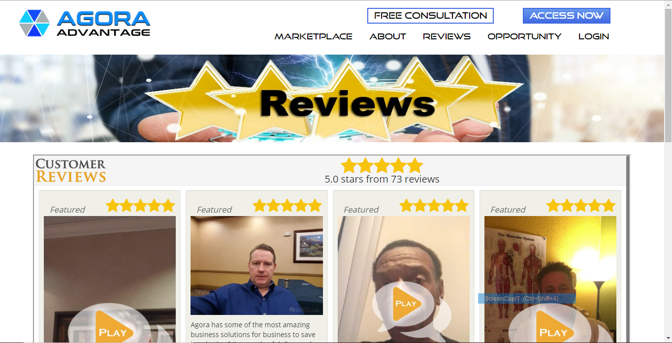 Affiliate Reviews Example