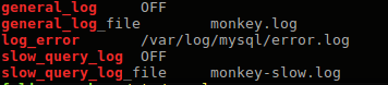 mysql some log variables